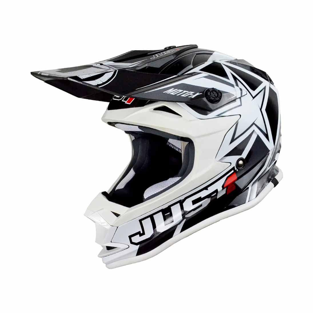 Just1 Crosshelm J32 Pro Moto X White