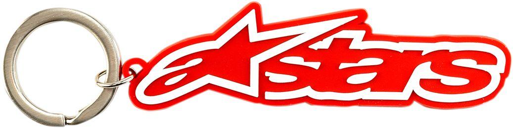 KEYCHAIN BLAZE RED