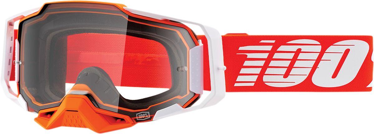 100% Armega Crossbril Regal Clear lens