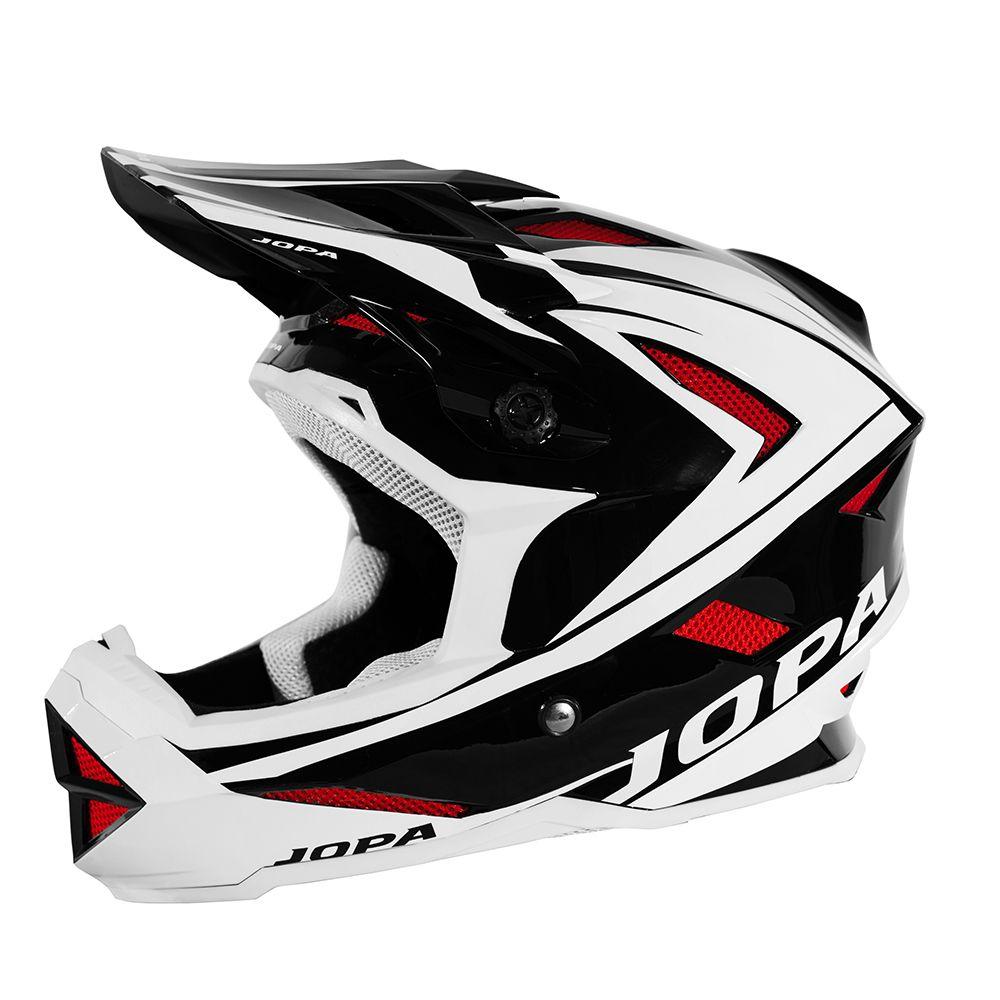Jopa BMX Helm Flash Black/White/Red