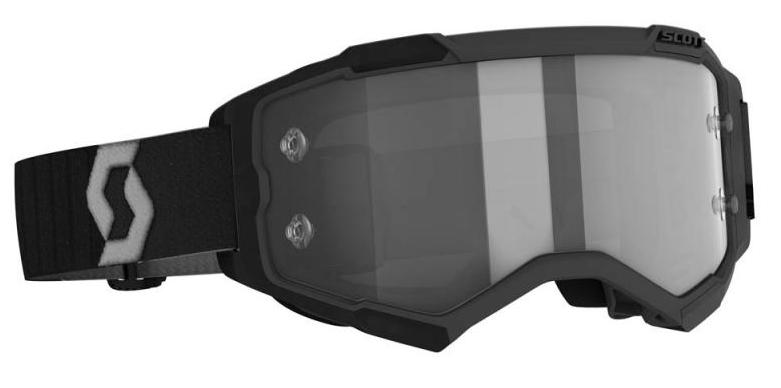 Scott Fury LS crossbril black Light Sensitive Grey Works