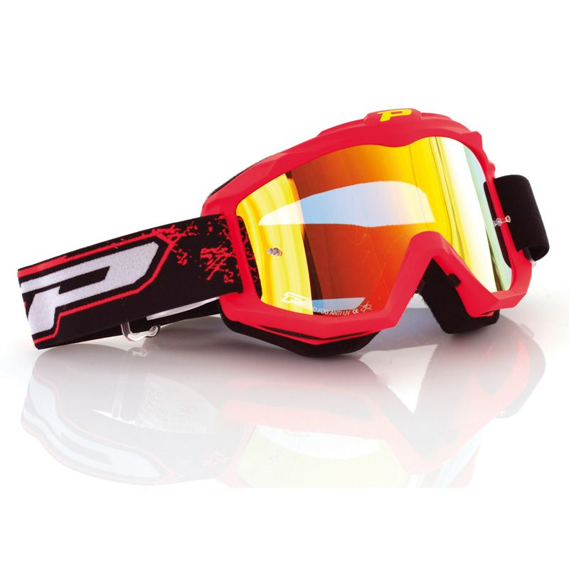Progrip Crossbril 3204 Fluo Red/Mirror Yellow