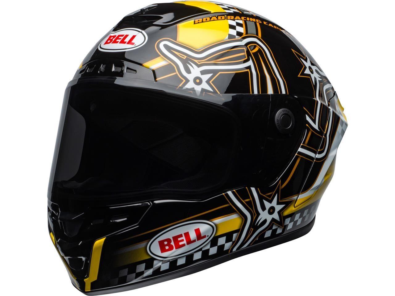 Bell Star DLX MIPS Integraalhelm Isle of Man 2020 Gloss Black/Yellow