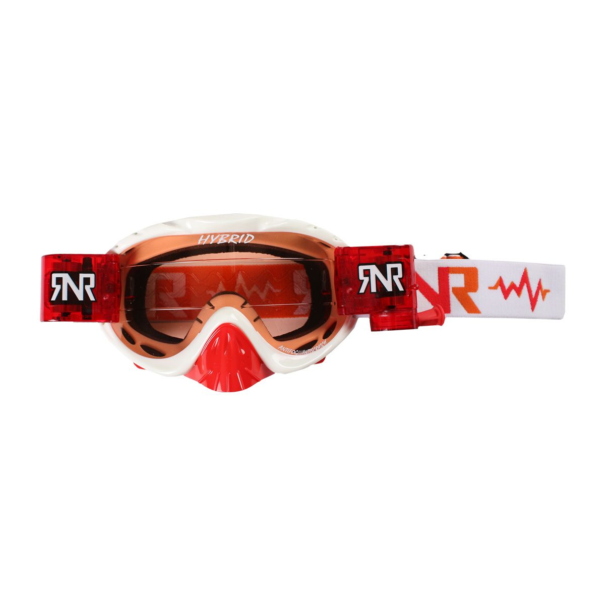 Rip 'n Roll Bril Hybrid + Roll Off White (red glass+canister)