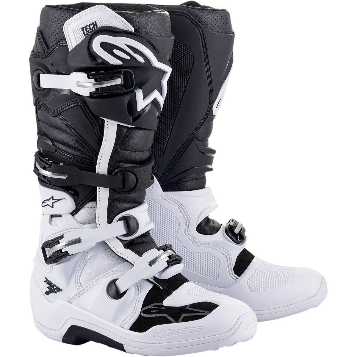 Alpinestars Crosslaarzen Tech 7 Black/White