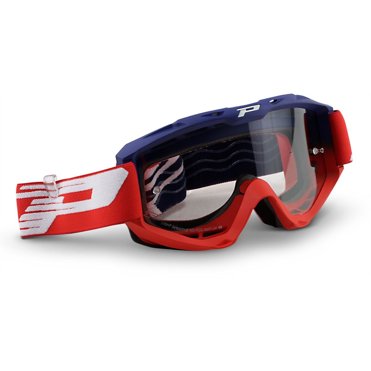 Progrip Crossbril 3450 Light Sensitive Riot Blue/Red
