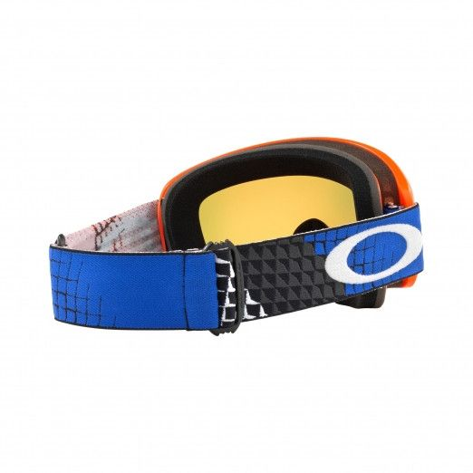 Oakley Crossbril O Frame 2.0 MX Dissolve Orange/Blue Iridium