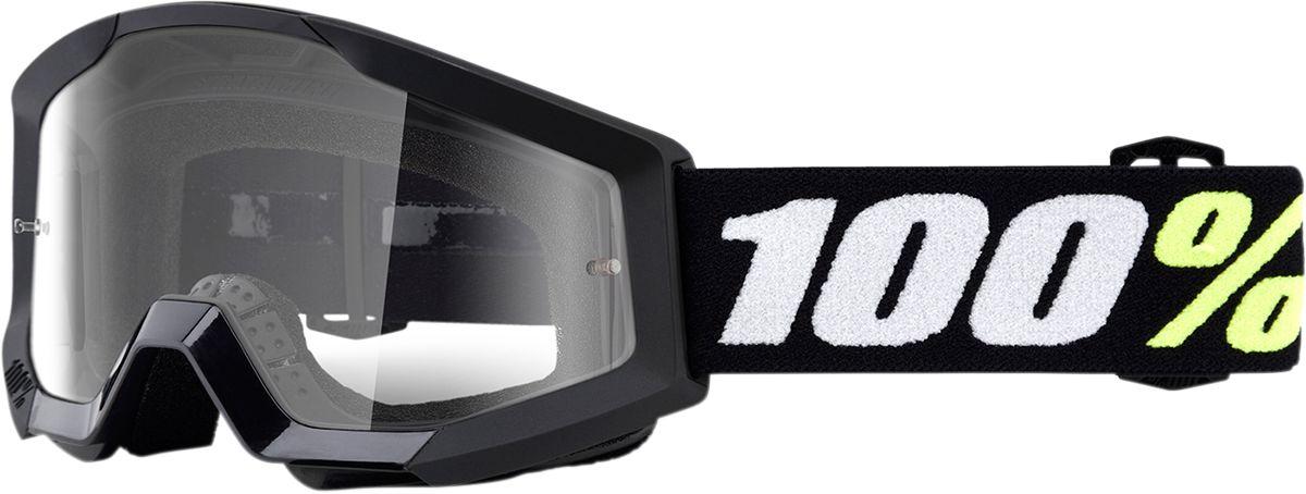 100% Kinder Crossbril Strata Mini Grom Black/Clear (tot 6 jaar)