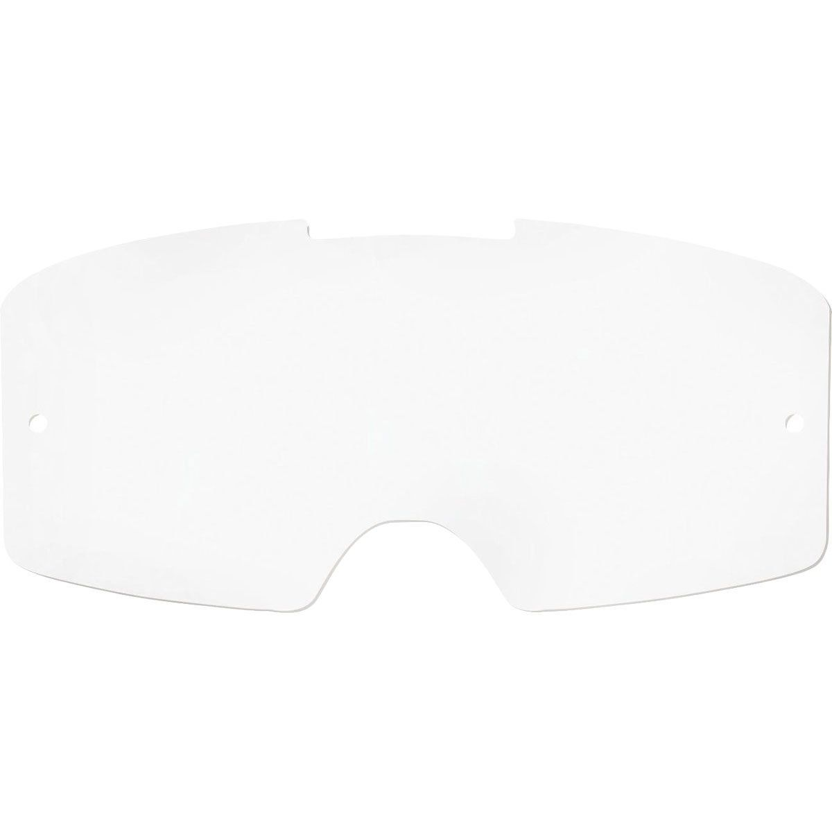 Oakley lens voor Oakley Front Line MX Crossbrillen (Ook PRIZM™)-Helder Met Roll-Off Gaten