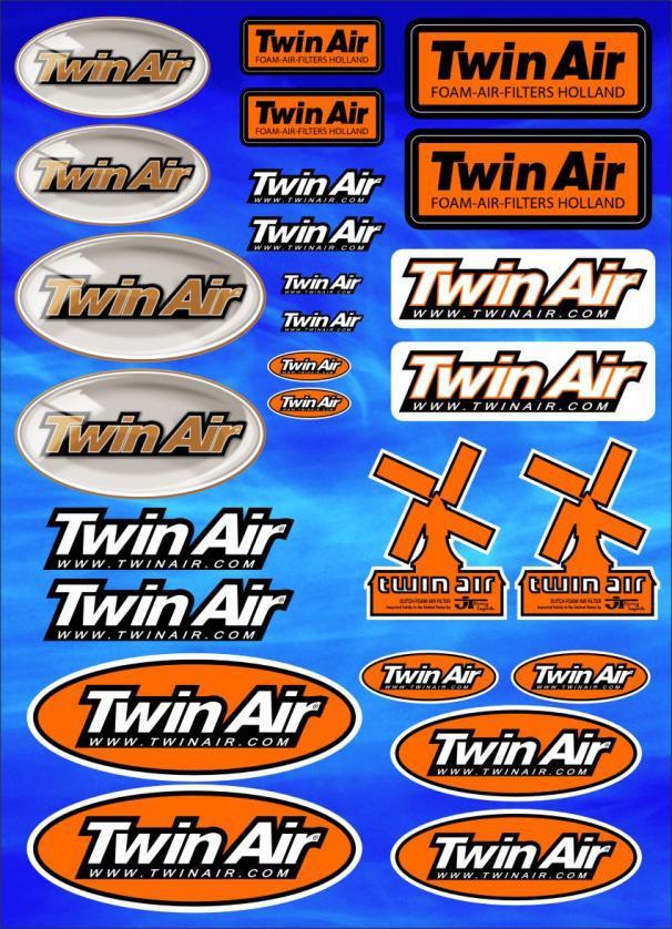 Twin Air Sticker Sheet
