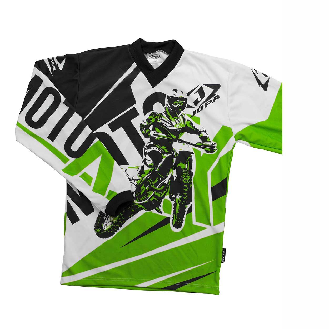 Jopa Kinder Shirt Moto-X Green-98