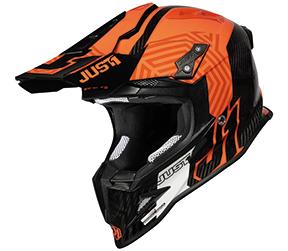 JUST1 Helmet J12 PRO Syncro Fluo Orange-Carbon 60-L