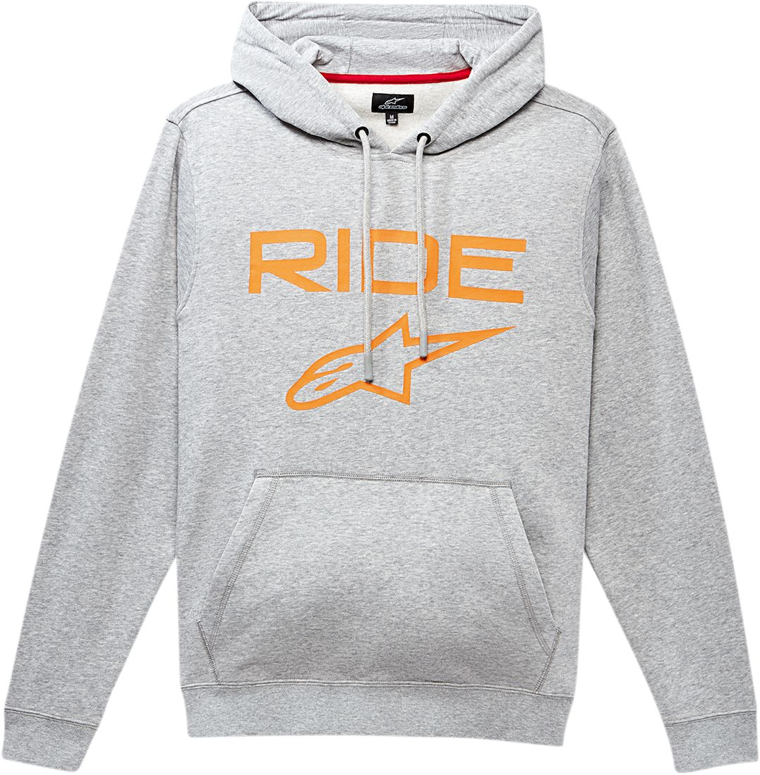 HOODIE RIDE 2.0 GY/OR 2X