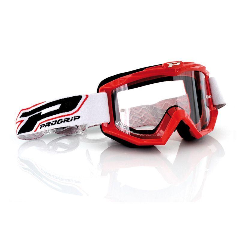 Progrip Crossbril 3201 Race Line Red