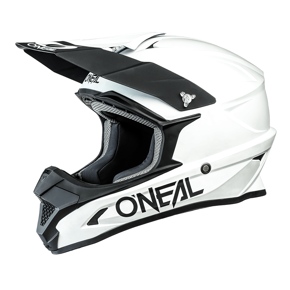 O'Neal Crosshelm 1 Series Solid White