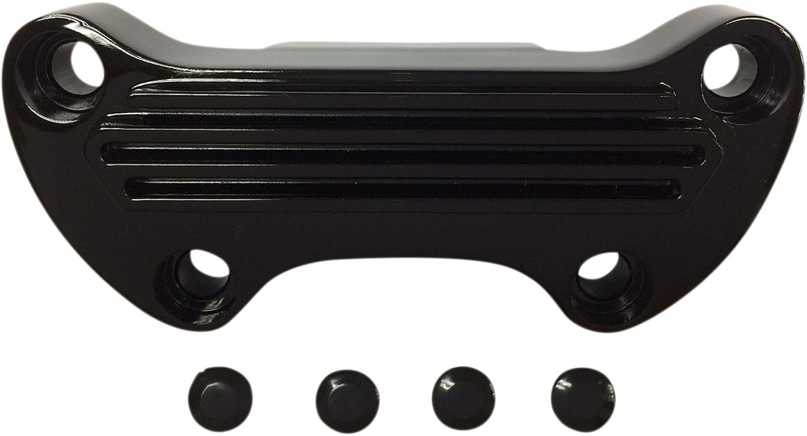 CLAMP HB FINNED GL BLK