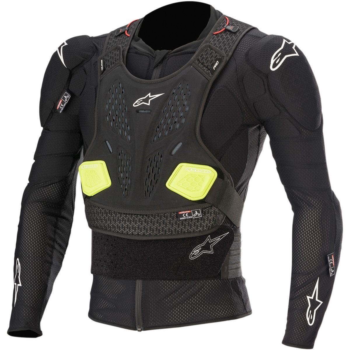 Alpinestars Bionic Pro V2 Protectievest Black/Fluor Yellow