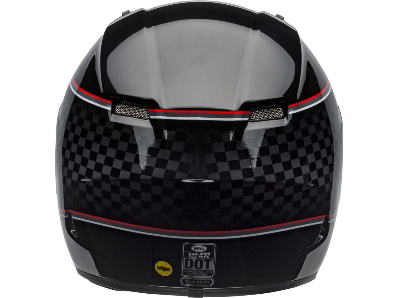 Bell Qualifier DLX Integraalhelm Breadwinner Gloss Black/White