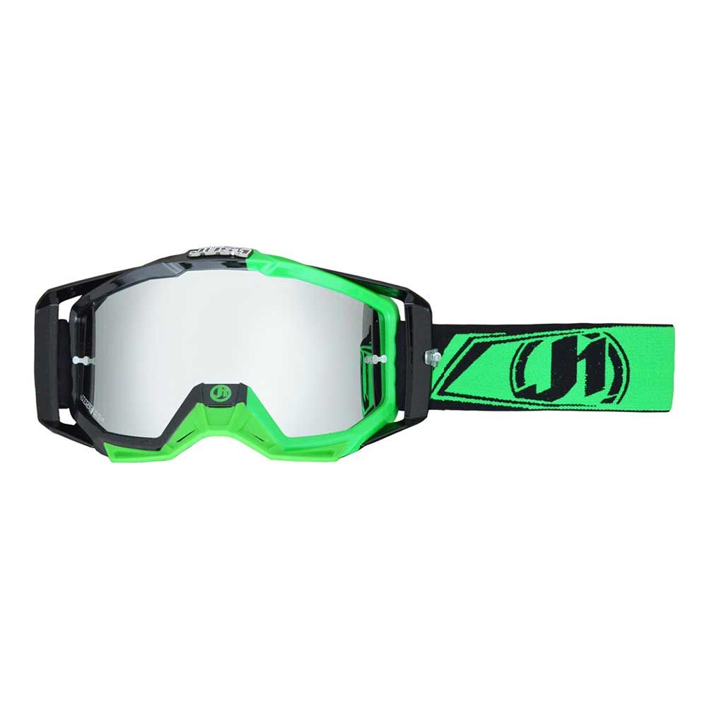 JUST1 Goggle Iris Carbon Fluo Green
