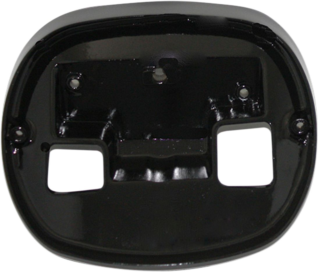 PLATE BASE TAILLIGHT BLK