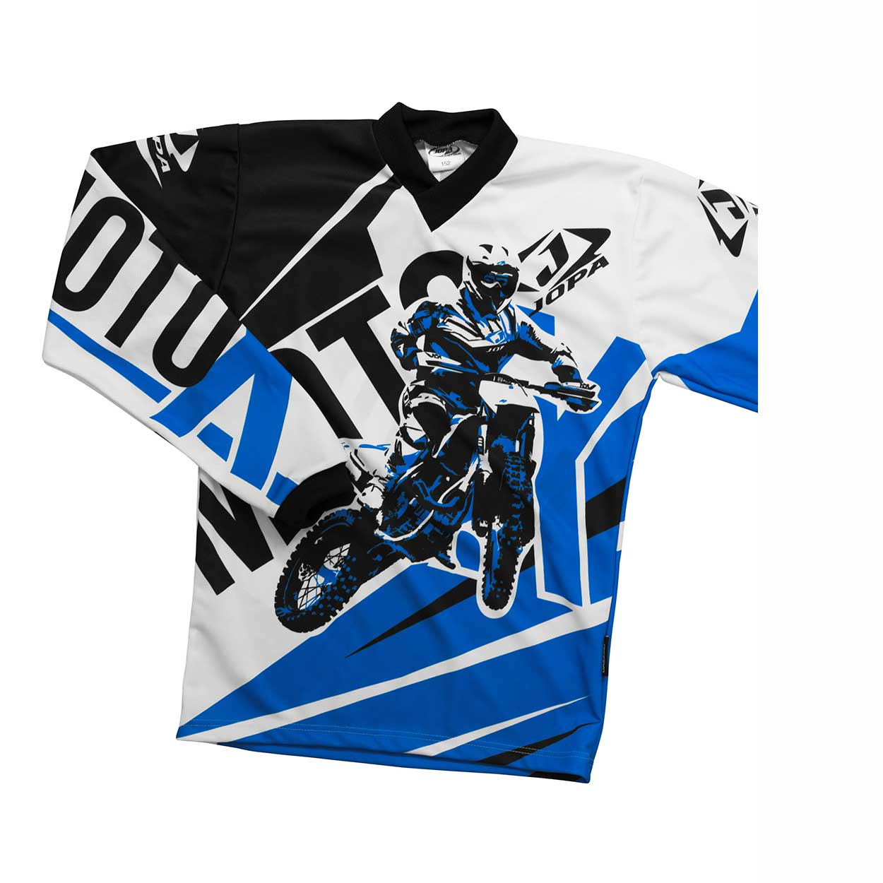 Jopa Kinder Shirt Moto-X Blue-98