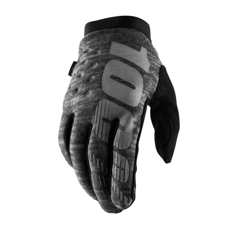 100% Handschoenen Brisker Heather Grey