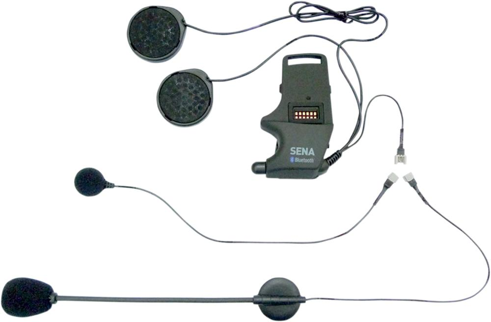Sena SMH-10 Helmet Clamp Kit With Wired Mic And Boom Mic (SMH-A0302)