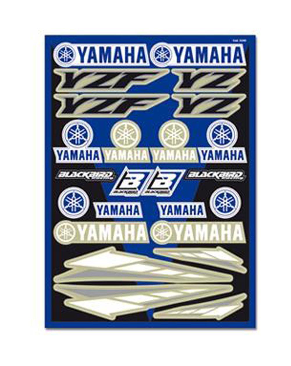 Blackbird Decal Logo Kits Yamaha Universal Kit