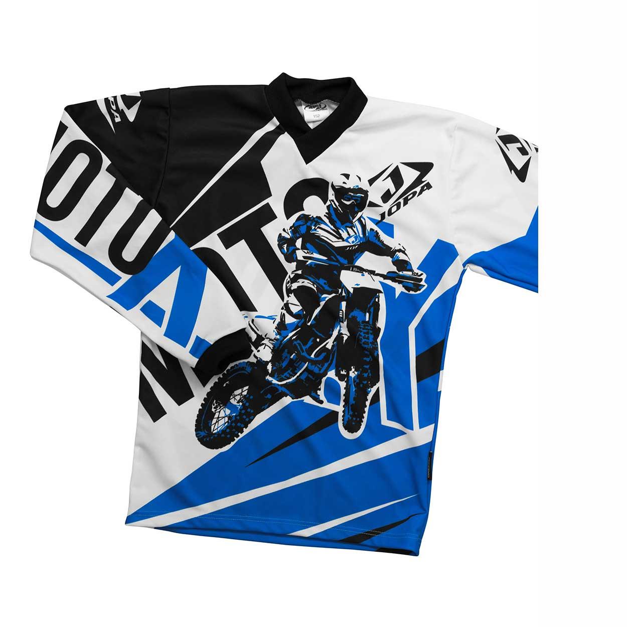 Jopa Kinder Shirt Moto-X Blue-86