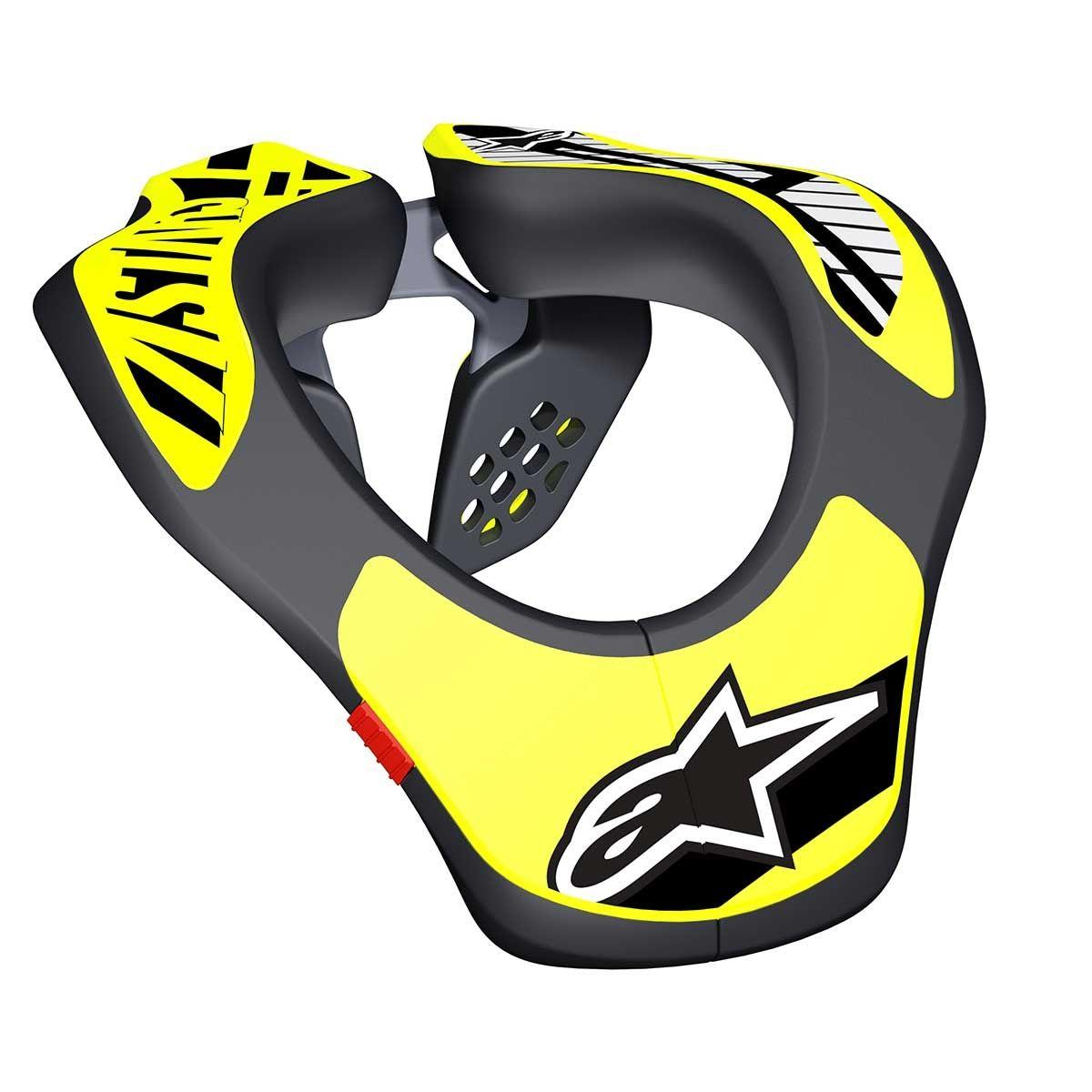 Alpinestars Kinder Neck Support Black/Fluor Yellow