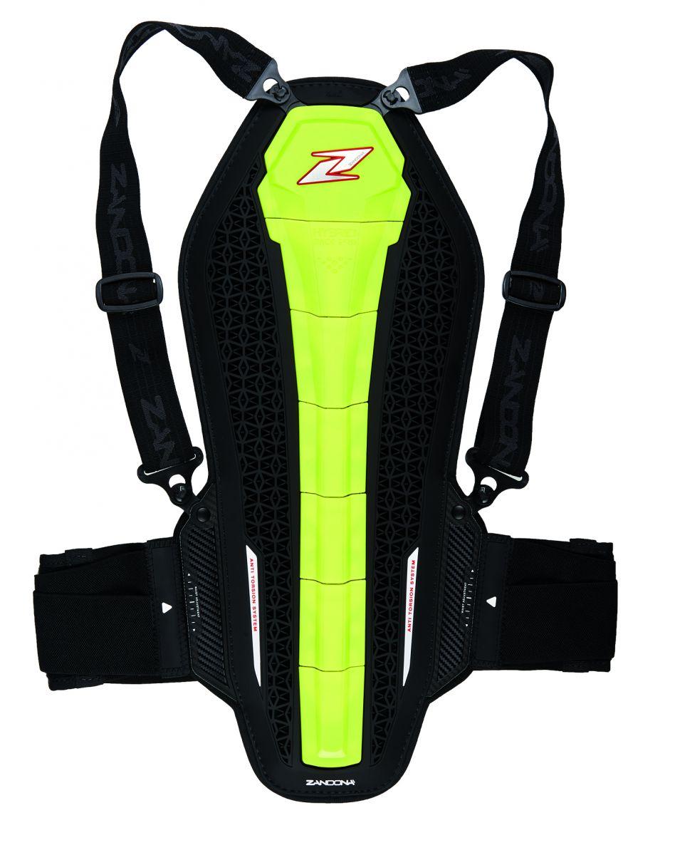 Zandona Hybrid Back Pro (1306) Black-Yellow Fluo X8 L