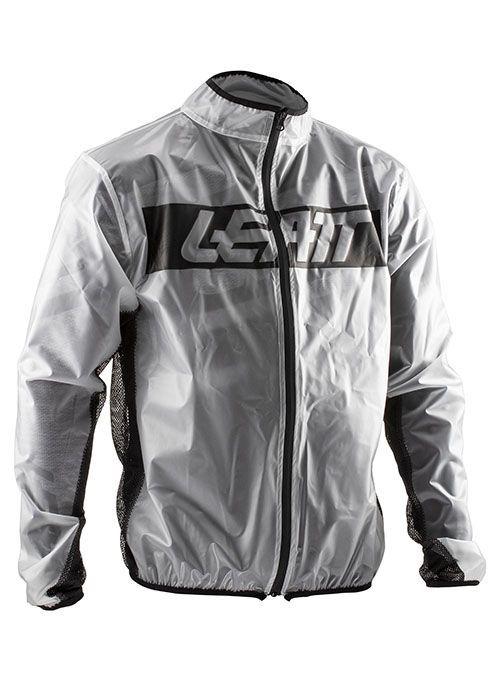 Leatt Rain Jacket Regenjas Transparant