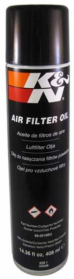AIRFILTER OIL 408ML/14.36 FLOZ