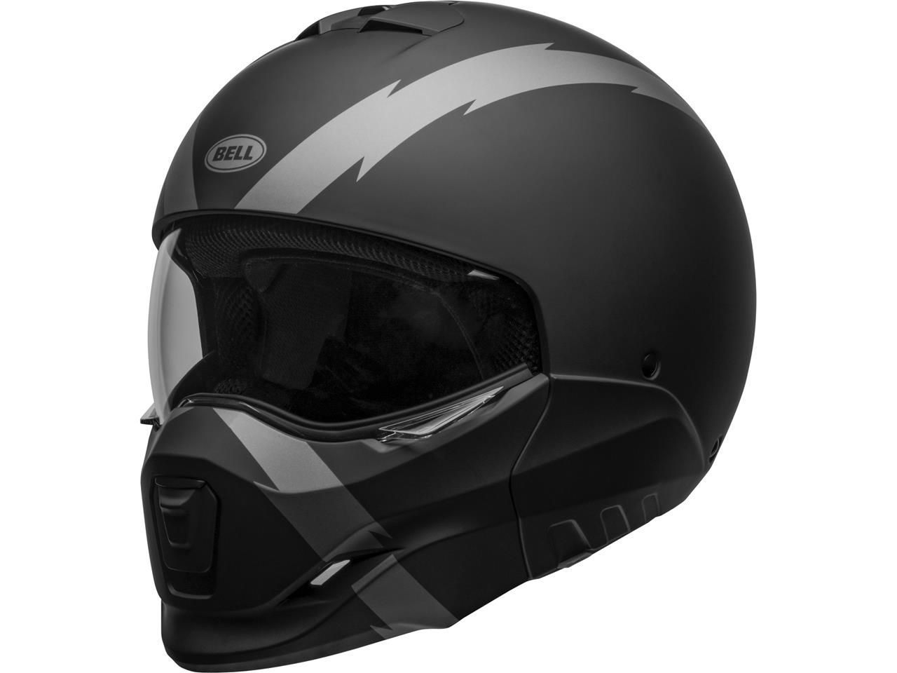 Bell Broozer Streetfigther Jethelm Arc Matte Black