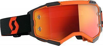 Scott Fury LS crossbril orange/black
