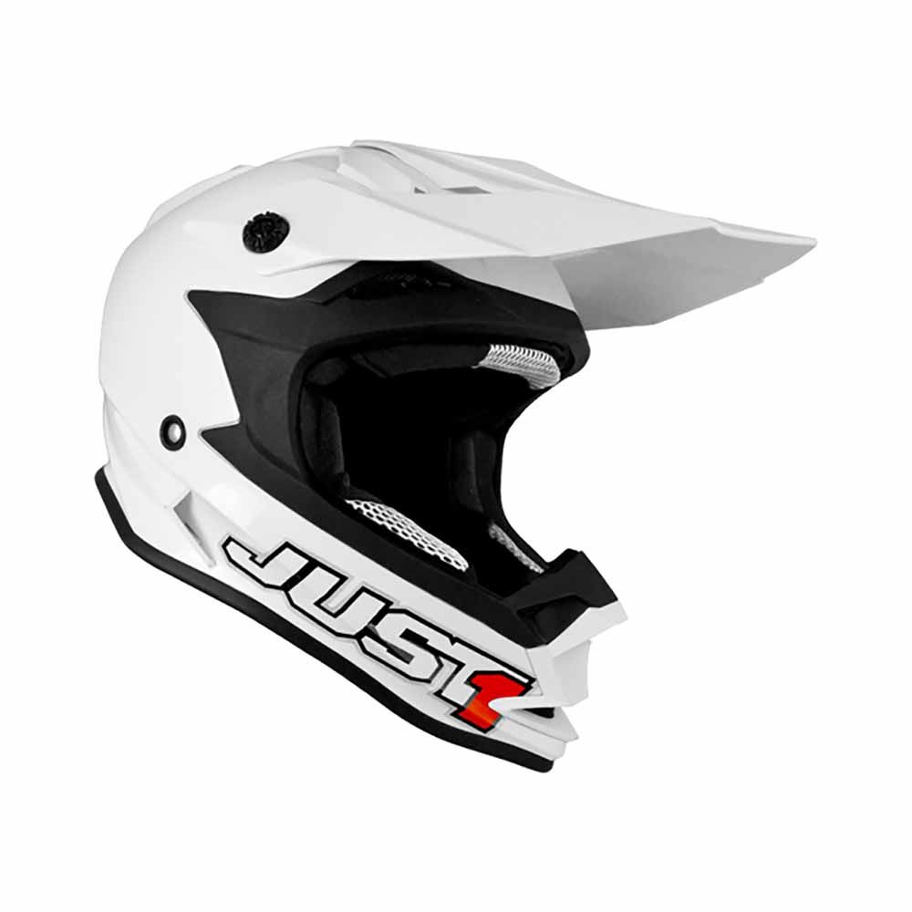 Just1 Crosshelm J32 Solid White