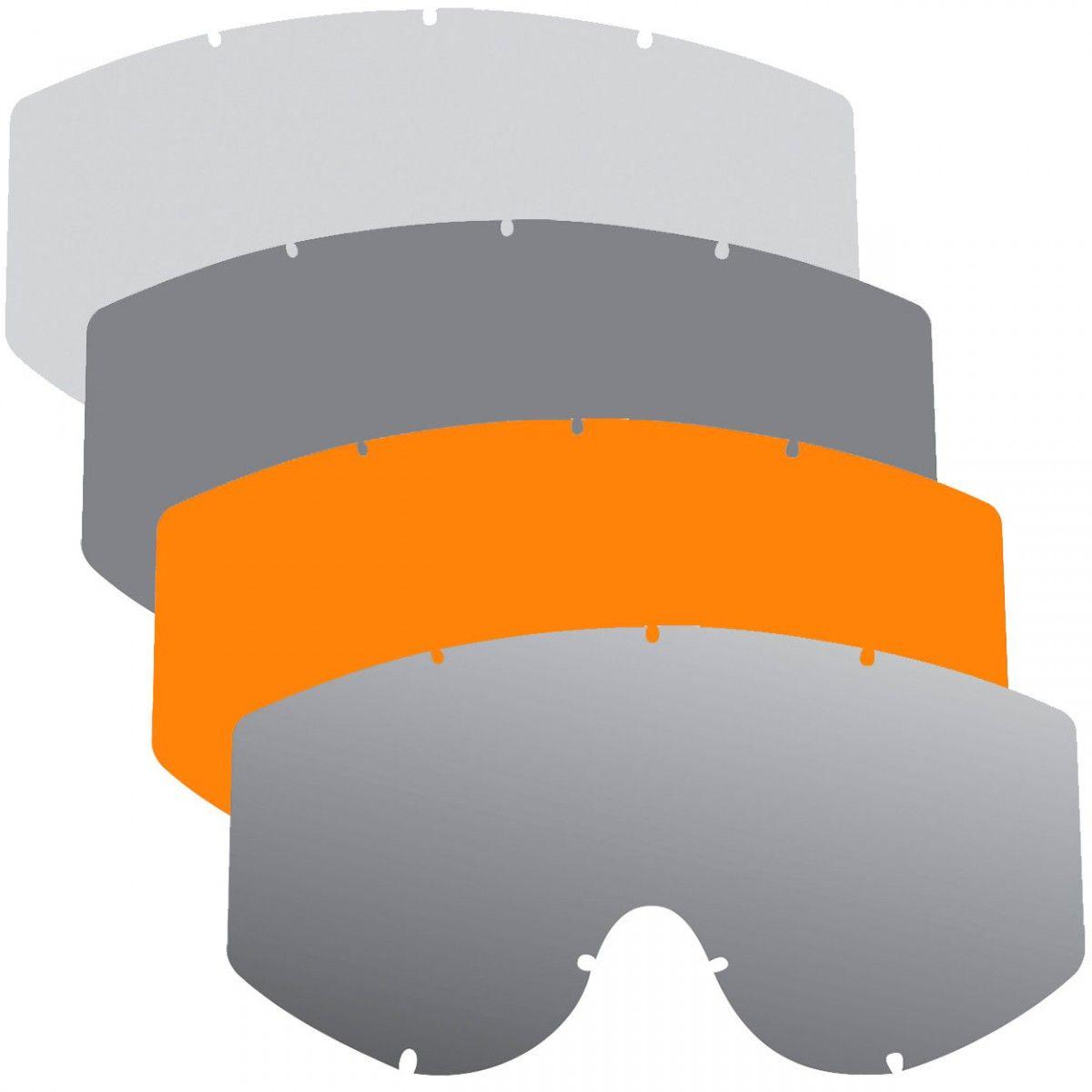 Polywel lens voor Progrip-Oranje
