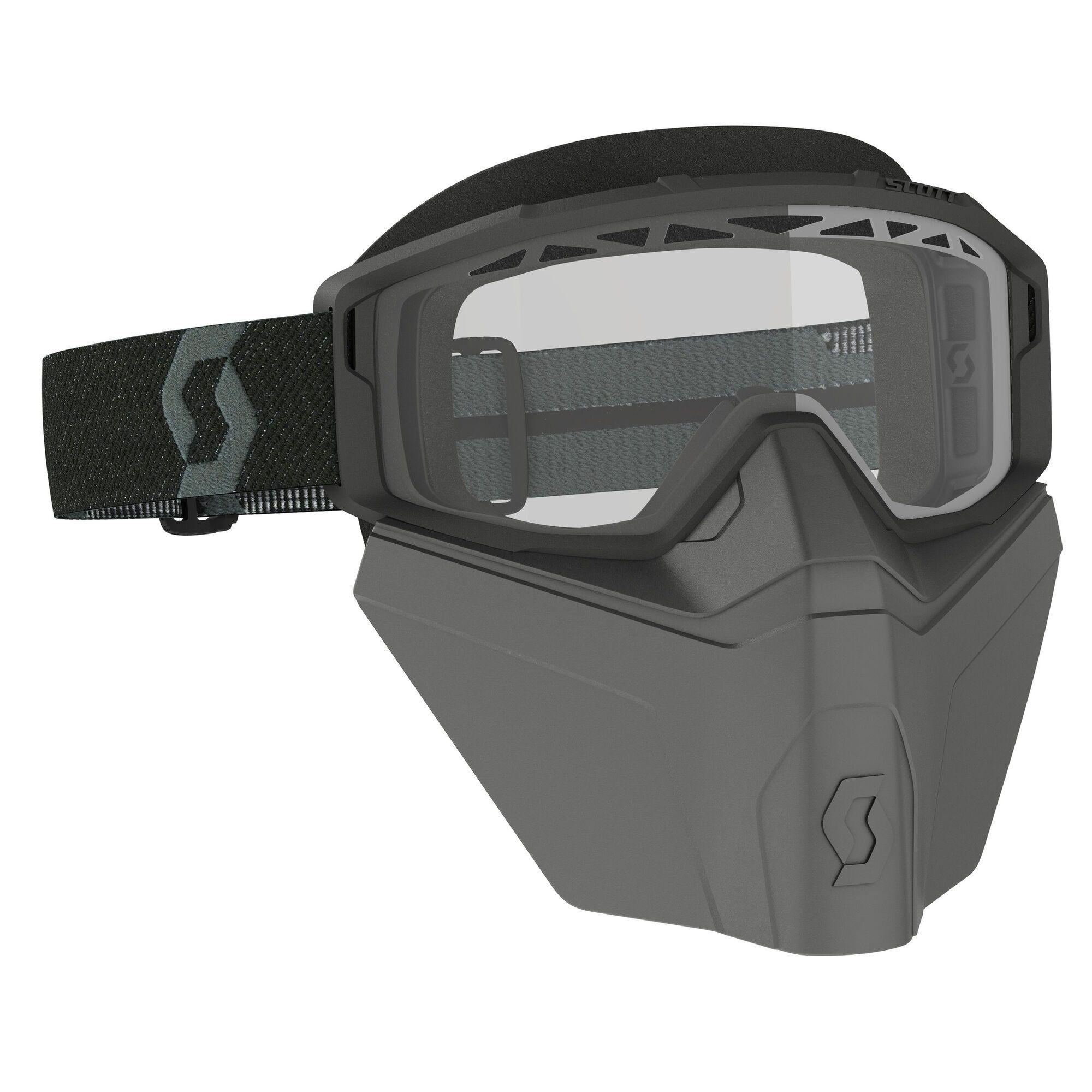 Scott Crossbril Primal Safari Facemask Black