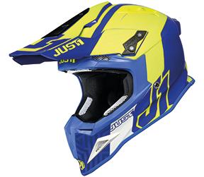 JUST1 Helmet J12 PRO Syncro Fluo Yellow-Blue 60-L