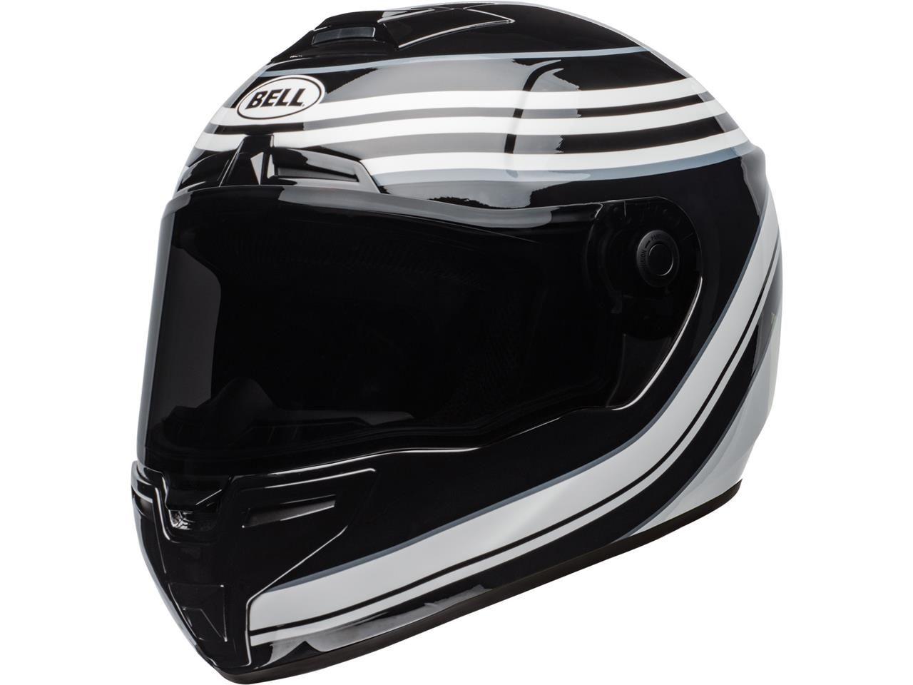 Bell SRT Integraalhelm Vestige Gloss Black/White