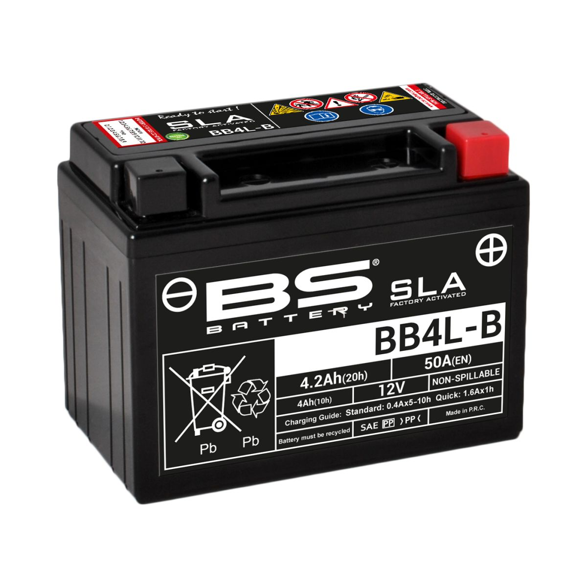 BATTERY BS BB4L-B SLA