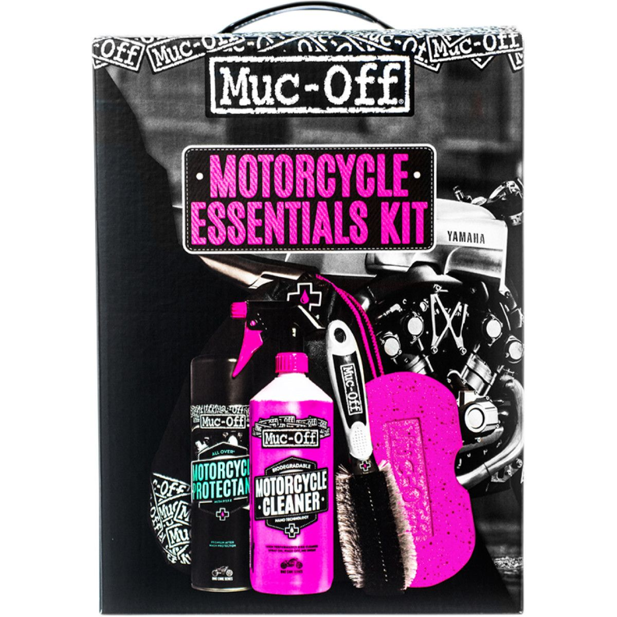 Muc-Off Motorcycle Bike Essentials Cleaning Kit