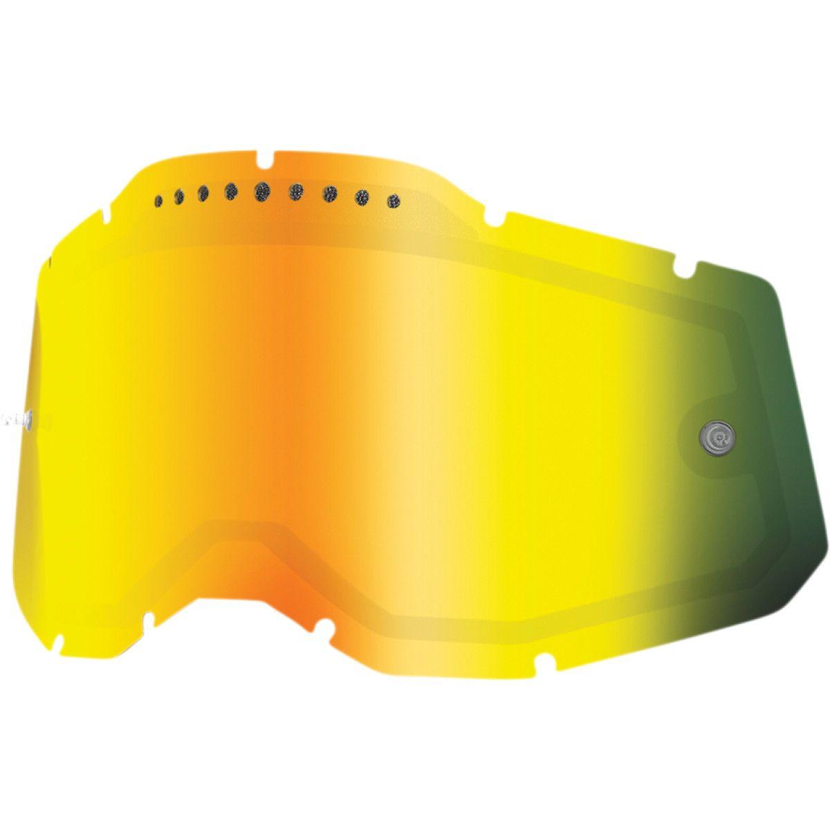 100% Racecraft/Accuri/Strata 2 Dual Vented Spiegel Lens