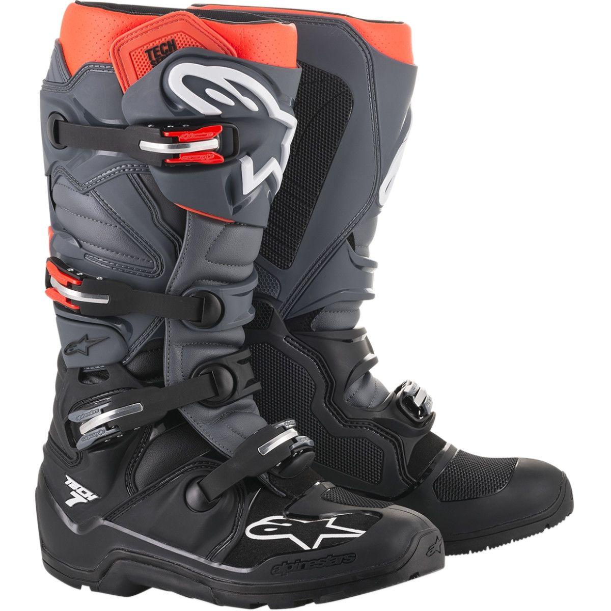 Alpinestars Crosslaarzen Tech 7 Enduro Black/Grey/Red