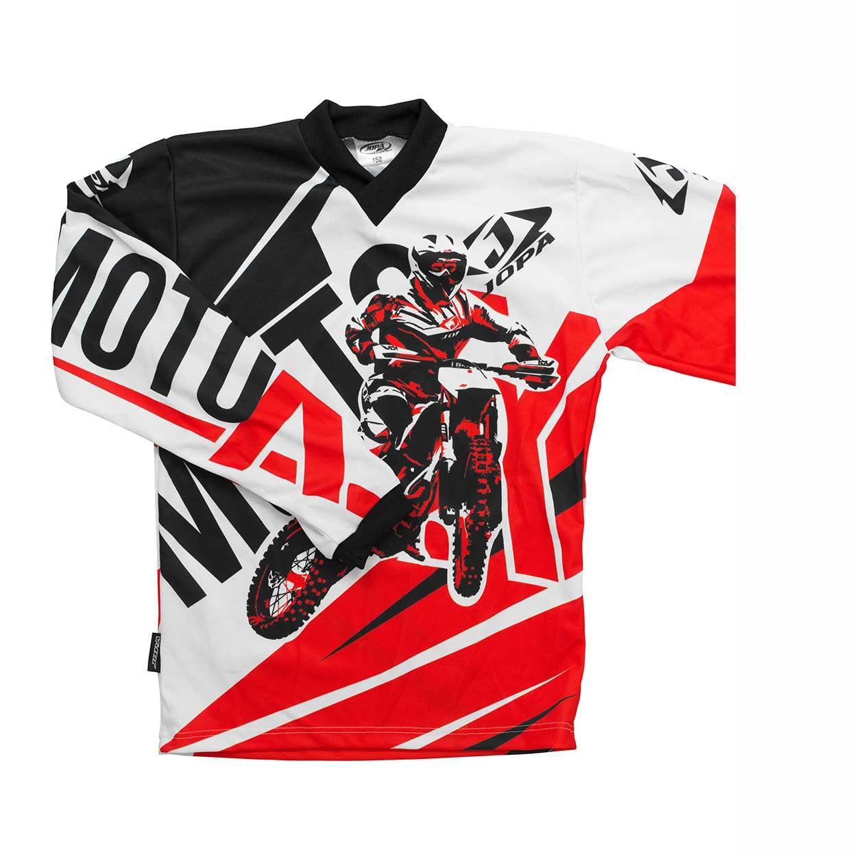 Jopa Kinder Shirt Moto-X Red-86