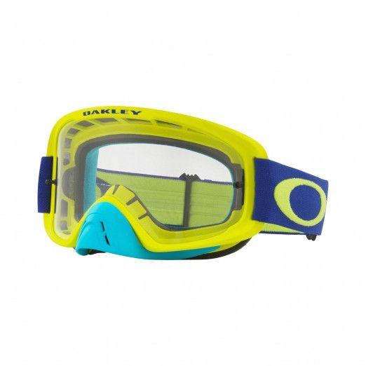 Oakley Crossbril O Frame 2.0 MX Fluor Lime/Blue