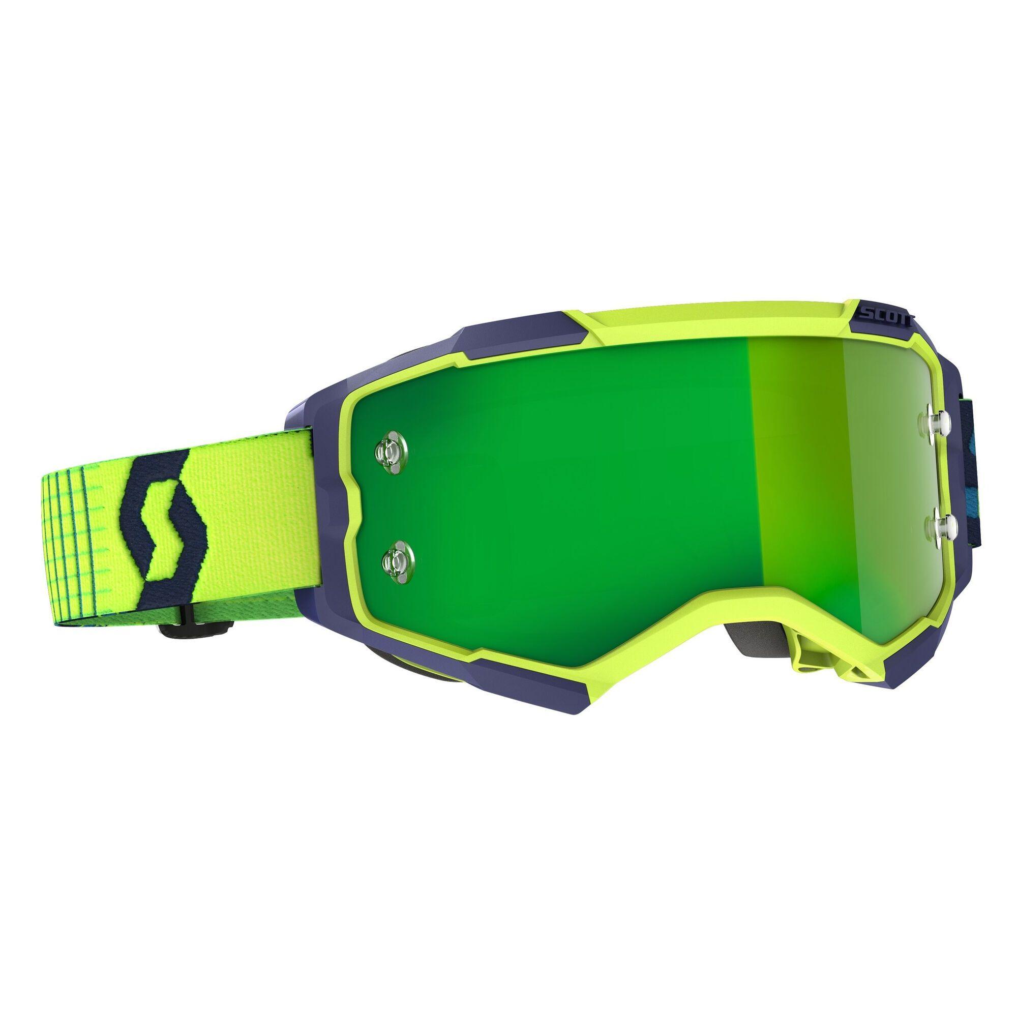 Scott Fury Crossbril Green Chrome