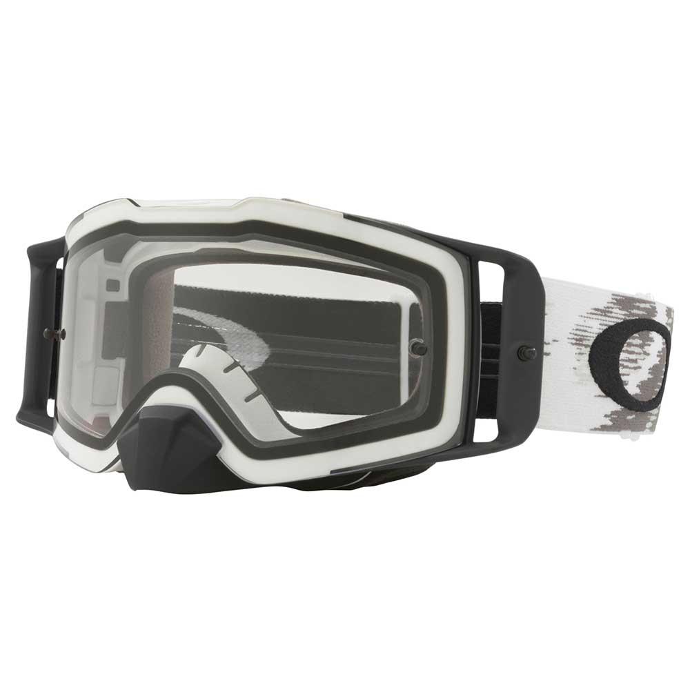 Oakley Crossbril Front Line MX Matte White Speed/Clear