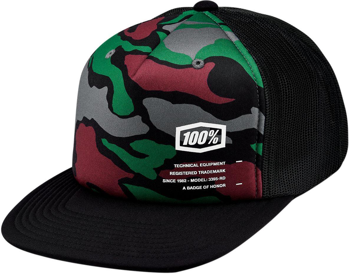 100% Trucker Pet Hats Trooper X-fit Camo