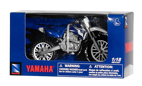 Miniatuur Motor Yamaha Cross 1:18